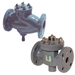 2 way flanged valves