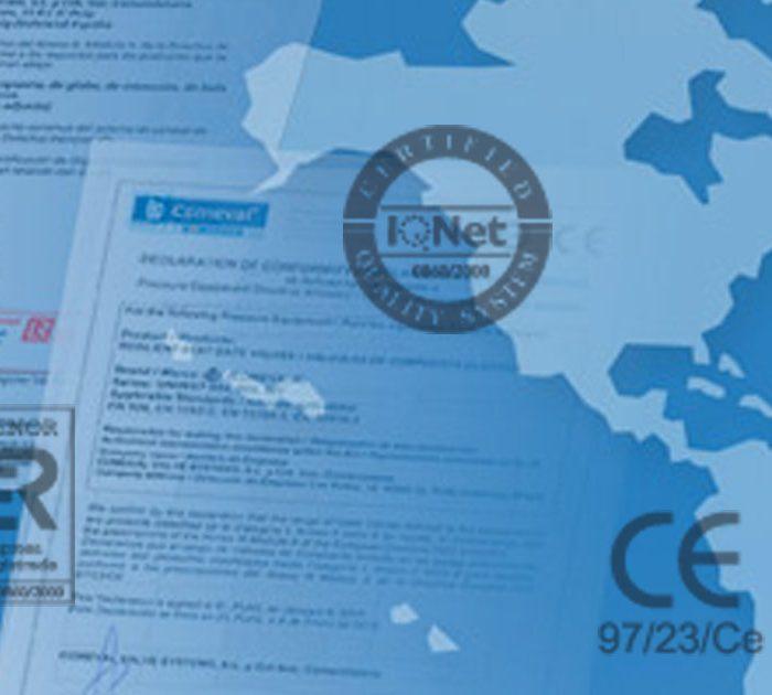 calidad certificados